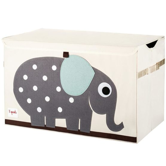 3 Sprouts Elephant Toys Storage Chest