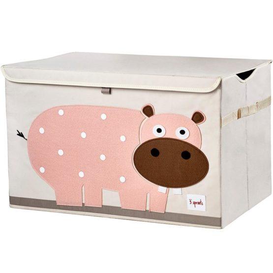 3 Sprouts Κουτί Αποθήκευσης Παιχνιδιών Toy Chest Hippo