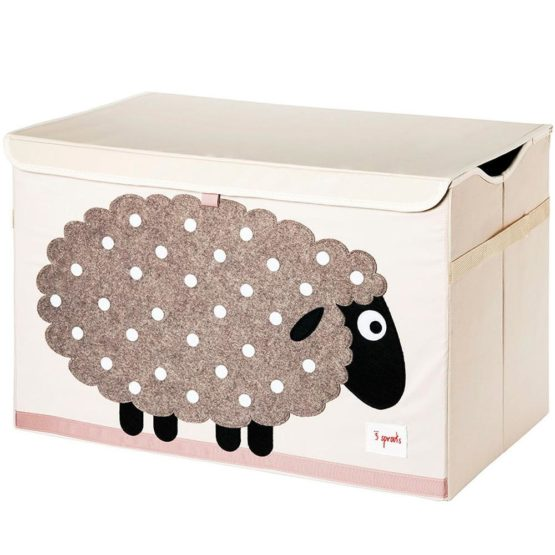 3 Sprouts Κουτί Αποθήκευσης Παιχνιδιών Toy Chest Sheep
