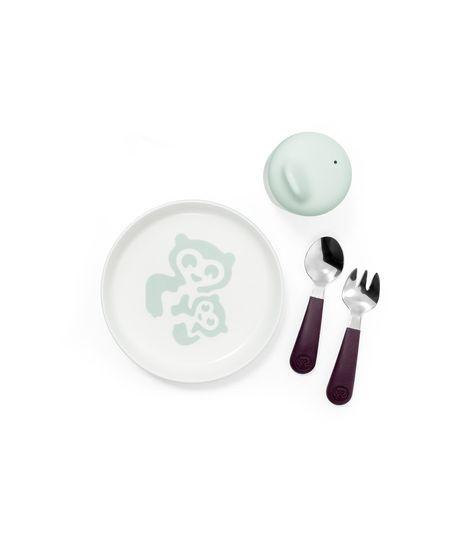 Stokke® Munch σετ φαγητού Essentials Soft Mint