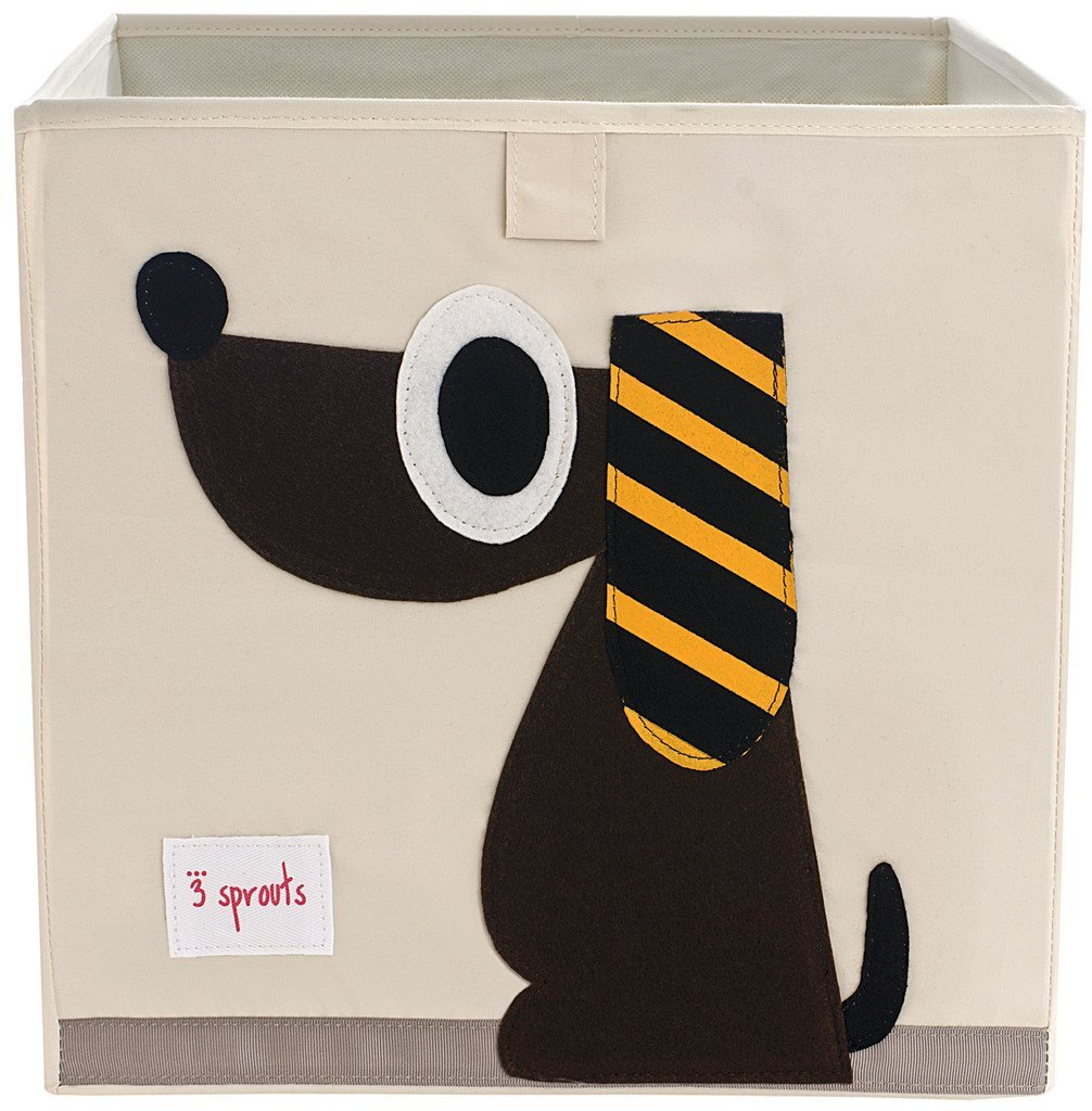 3 Sprouts Dog Toys Storage Box