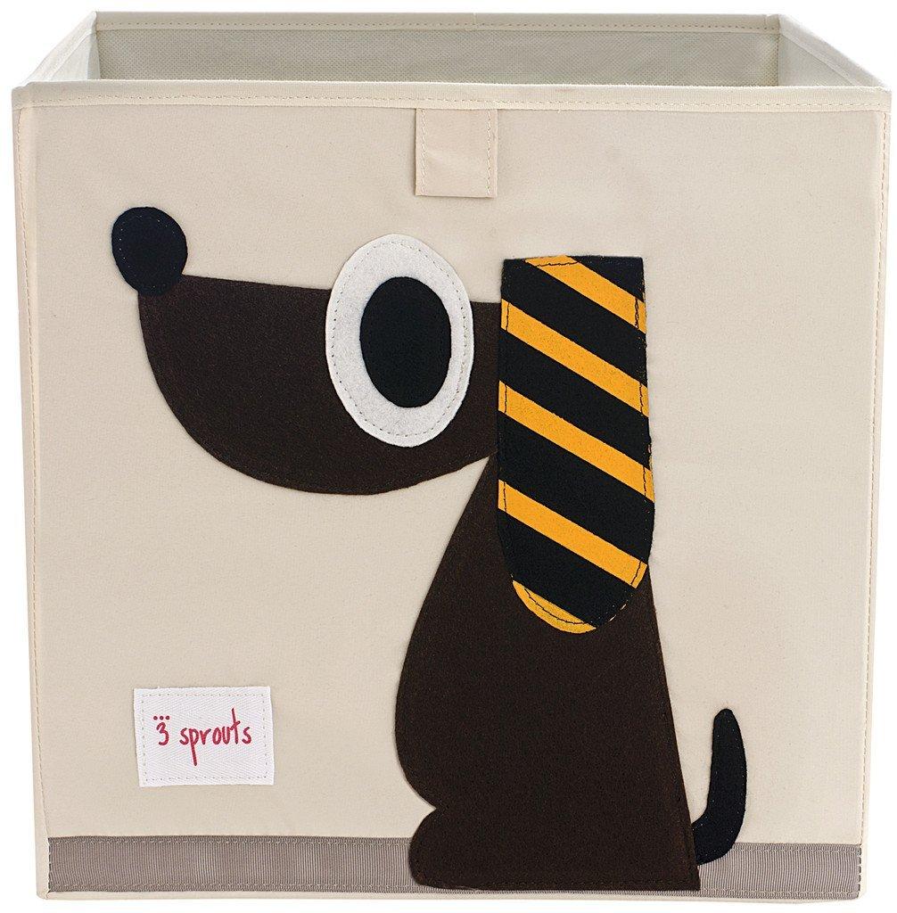 3 Sprouts Κουτί αποθήκευσης παιχνιδιών Storage Box Dog