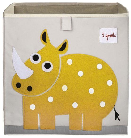 3 Sprouts Κουτί αποθήκευσης παιχνιδιών Storage Box Rhino