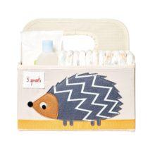 3 Sprouts Θήκη για πάνες & καλλυντικά Diaper Caddy Hedgehog - Bebe Home Βρεφικά Είδη