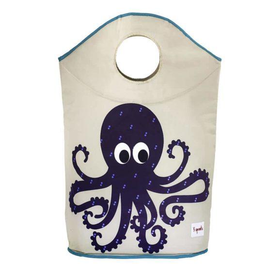 3 Sprouts Καλάθι για άπλυτα & για παιχνίδια Laundry Hamper Octapus