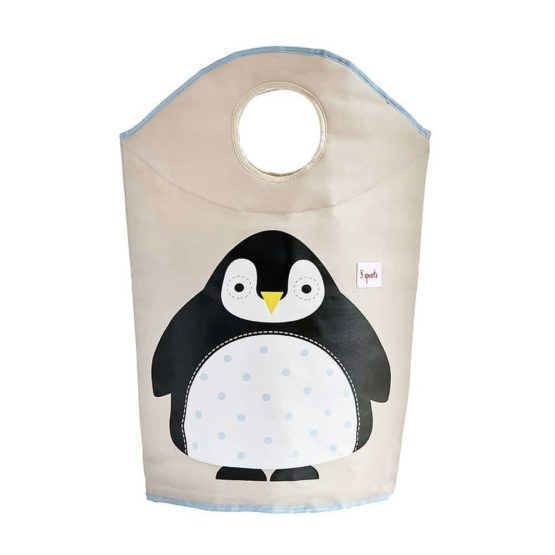 3Sprouts Laundry Hamper Penguin Open 1024x1024@2x