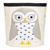 3 Sprouts Καλάθι παιχνιδιών Storage bin Owl