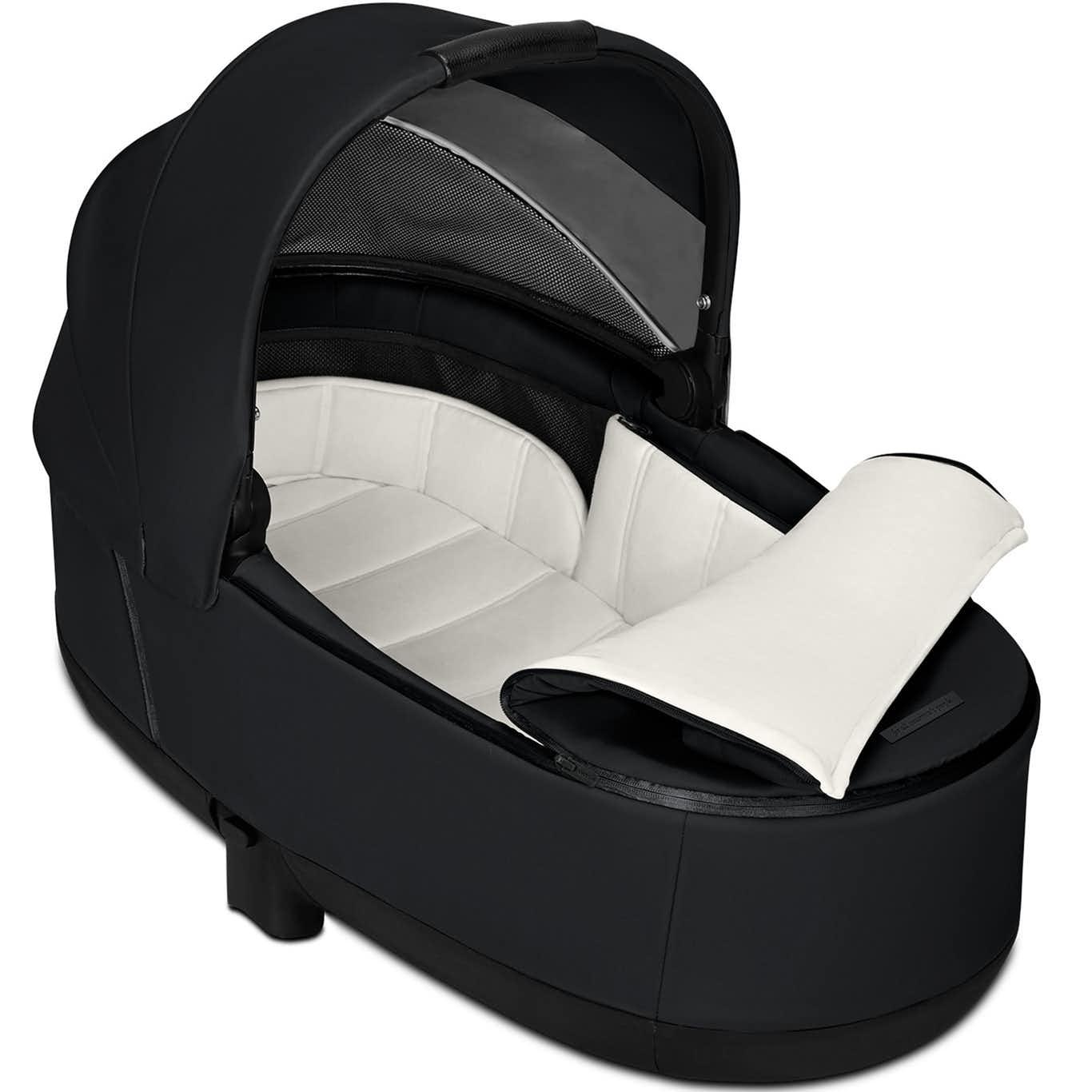 The Baby Room Cybex Priam Carrycot Lux Premium Black 02