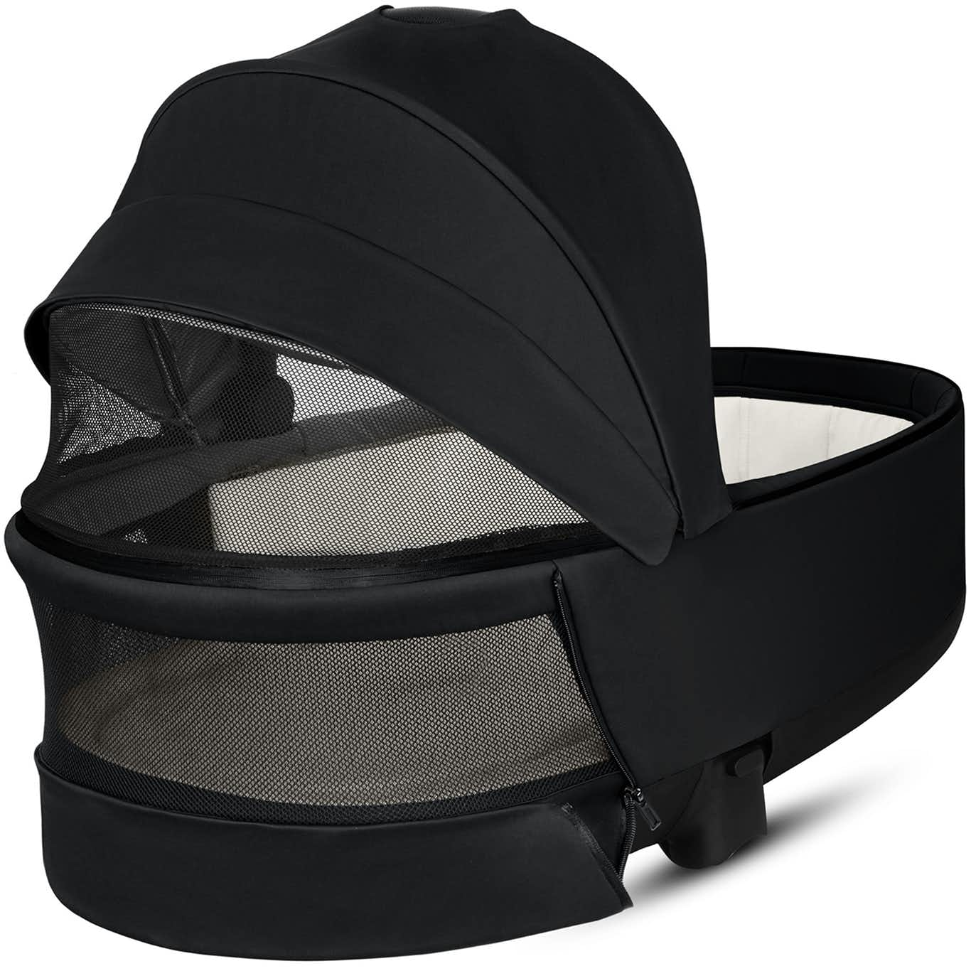 The Baby Room Cybex Priam Carrycot Lux Premium Black 03