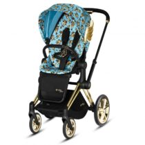 Cybex Καρότσι Priam Cherub Blue by Jeremy Scott - Bebe Home Βρεφικά Είδη