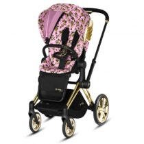 Cybex Καρότσι Priam Cherub Pink by Jeremy Scott - Bebe Home Βρεφικά Είδη