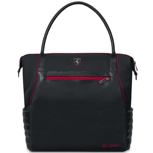 The Baby Room Cybex Scuderia Ferrari Changing Bag Victory Black Front