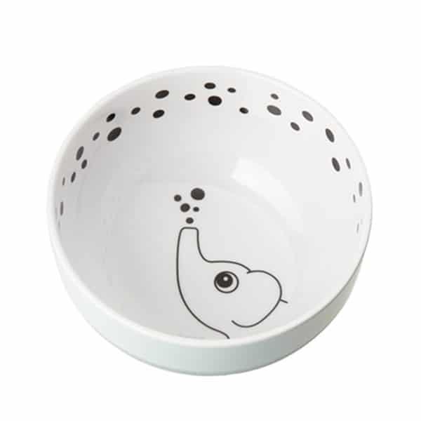 DONE BY DEER Elphee Blue Bowl With Anti-slip Bottom