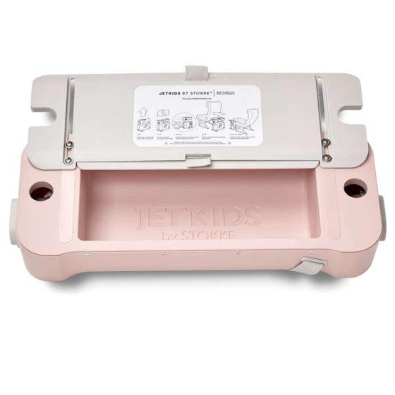 BedBox Pink Open Lid