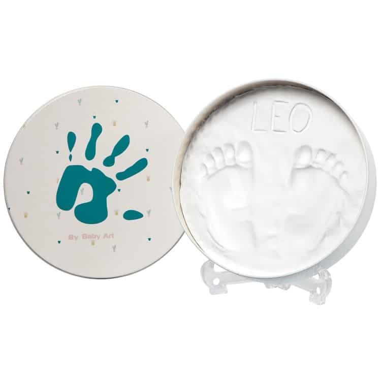 BABY ART Magic Box Round Essentials Footprint Box