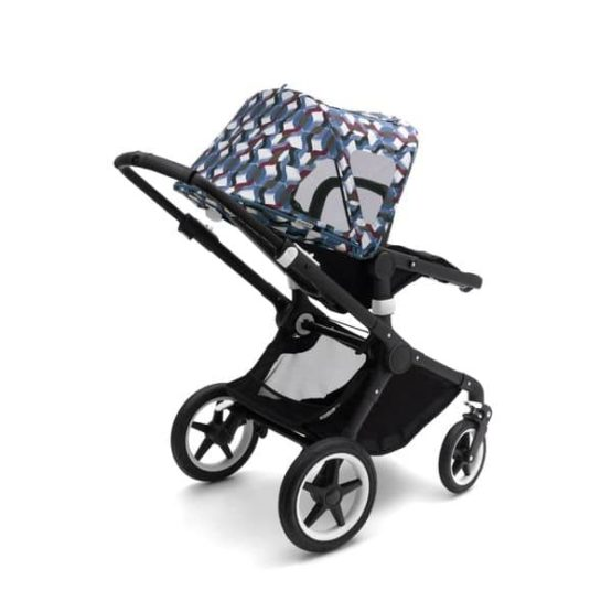 Bugaboo Fox And Cameleon3 Breezy Sun Canopy Waves 5