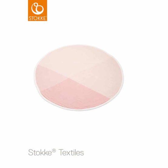 Stokke® κουβέρτα πλεκτή (organic cotton) Pink 95cm