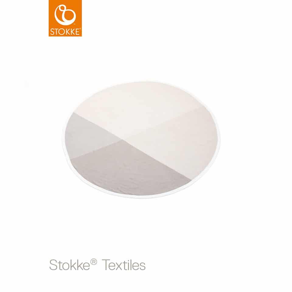 Stokke® κουβέρτα πλεκτή (organic cotton) Beige 95cm
