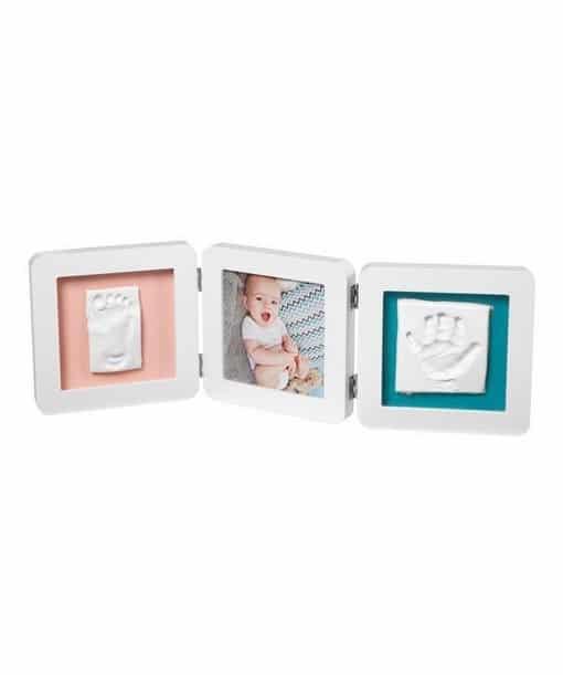 BABY ART Κορνίζα Αποτύπωμα My Baby Touch Double White