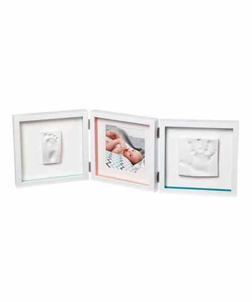 BABY ART Footprint Photo Frame My Baby Style Double Essentials