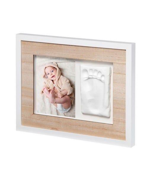 BABY ART Κορνίζα Αποτύπωμα Tiny Style Wooden