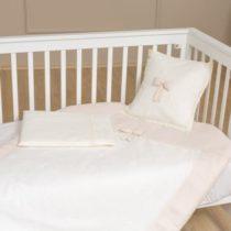 Funna Baby Σεντόνια Κούνιας 3 Τεμ. Premium Cream - Bebe Home Βρεφικά Είδη