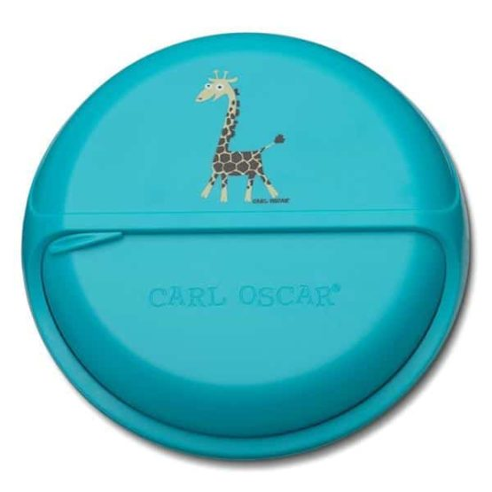 Snackdisk Turquoise Giraf
