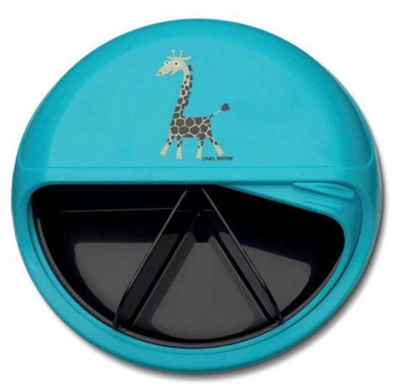 Snackdisk Turquoise Giraf2