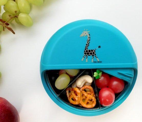 Snackdisk Turquoise Giraf6