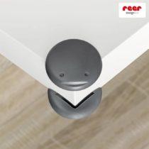 Reer Προστατευτικά για γωνίες Grey 4 τμχ - Bebe Home Βρεφικά Είδη