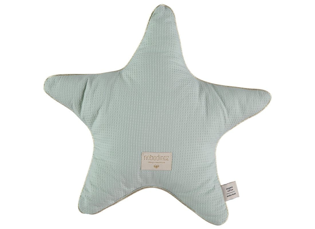 Nobodinoz. Aristote Aqua Star Pillow