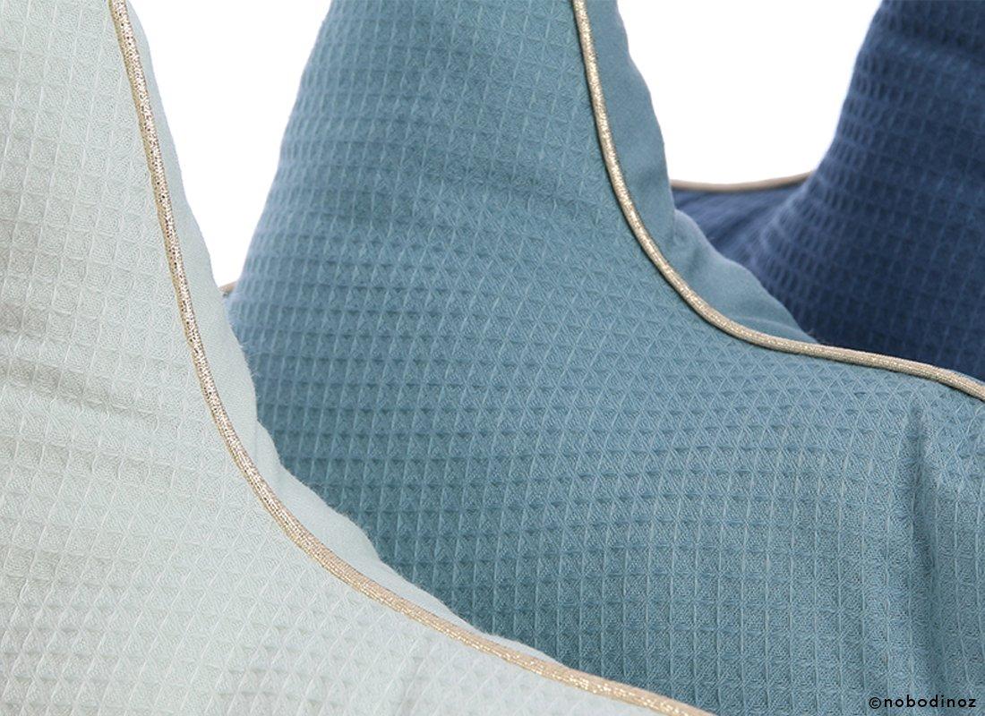 Aristote Star Cushion Coussin Etoile Cojin Estrella Combinaison Blue Green Aqua Nobodinoz 2