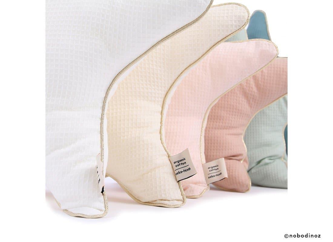 Aristote Star Cushion Coussin Etoile Cojin Estrella Combinaison Pink Natural Aqua Nobodinoz 2