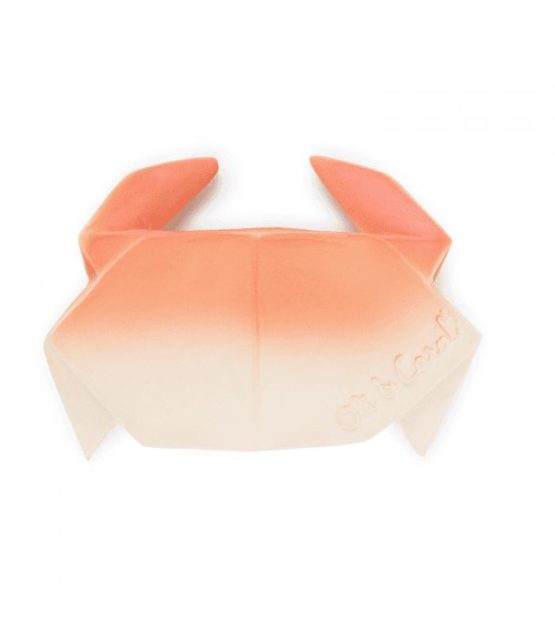 OLI & CAROL. Natural Rubber Chewable Toy – Origami Crab