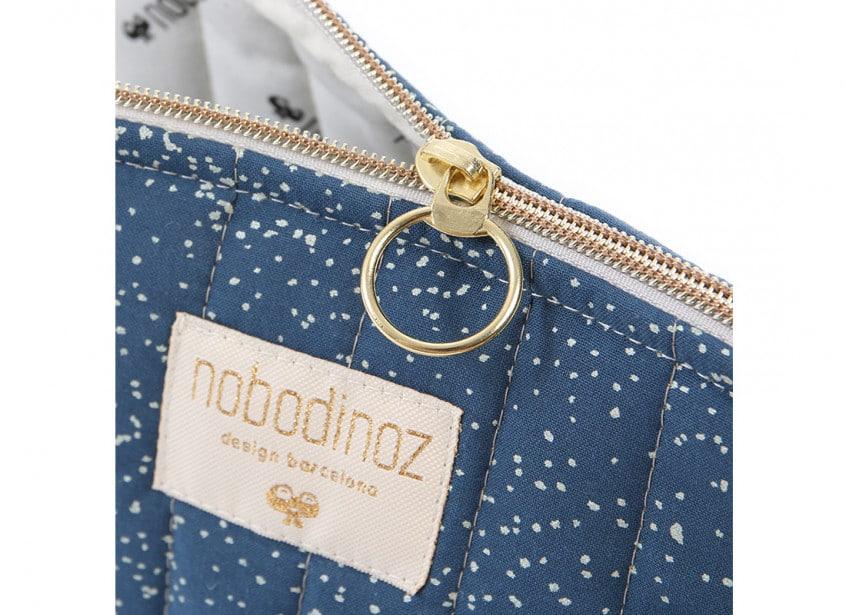 Holiday Vanity Case Trousse De Toilette Neceser Gold Bubble Night Blue Nobodinoz 2