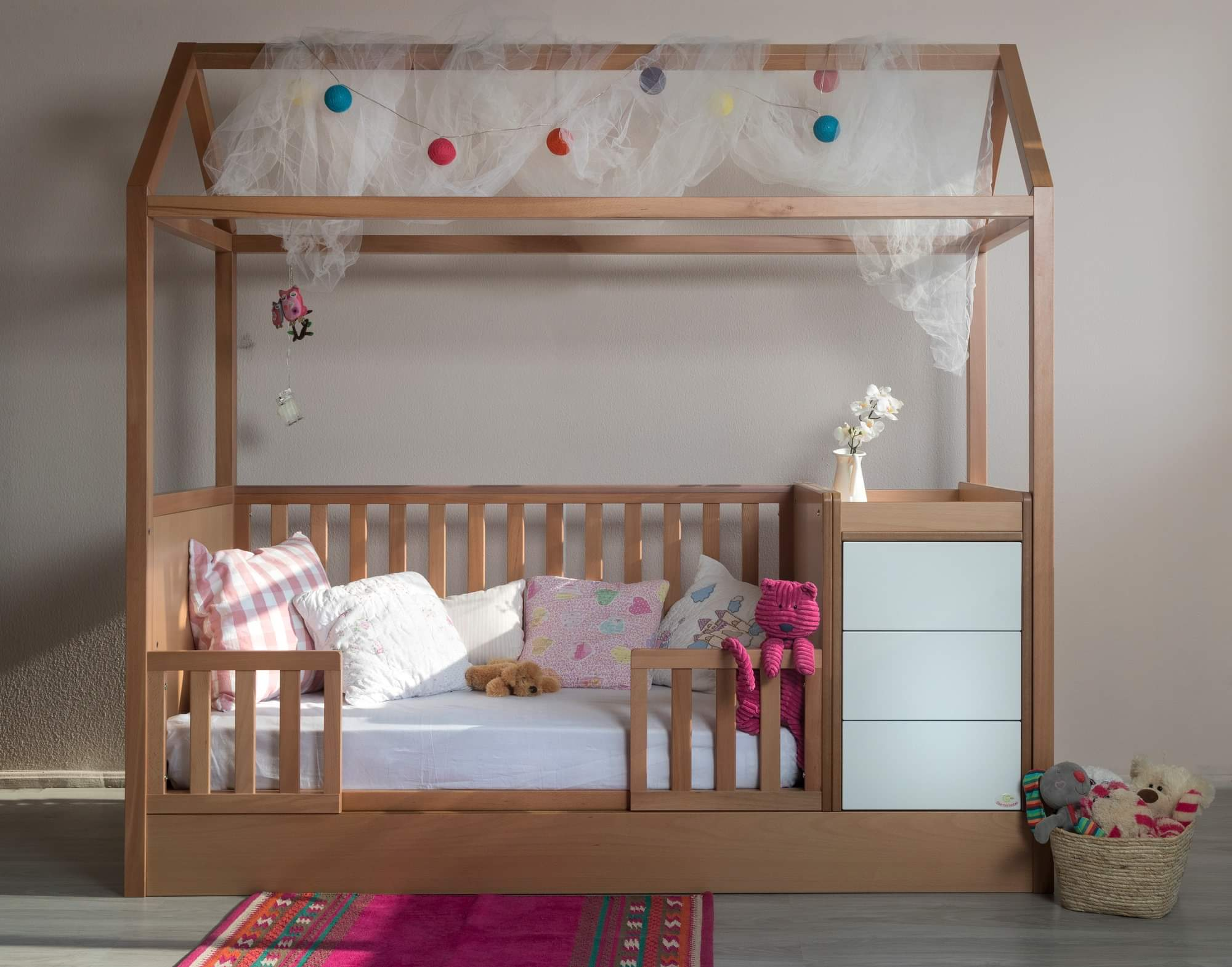 Santa Bebe Πολυμορφικό Κρεβάτι Maya Plus+