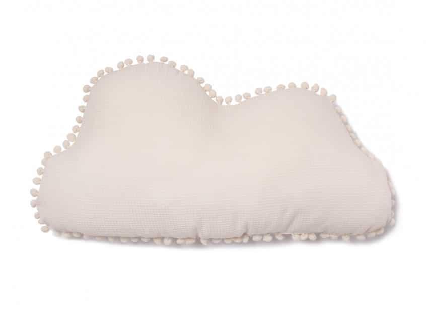 Nobodinoz. Marshmallow Cloud Pillow 30×58 Natural