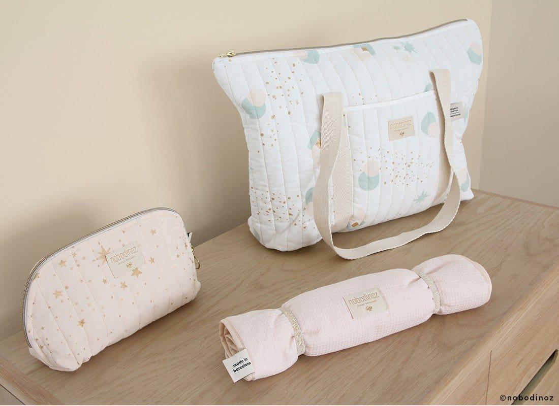 Mood Nobodinoz Maternity Bag Vanity Case Changing Pad 1