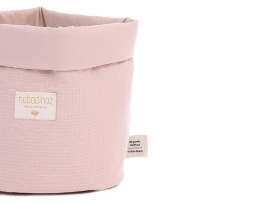 Panda Basket Panier Panda Cesta Panda Misty Pink Honeycomb Nobodinoz 2 4e16c106 362b 40c5 9d61 92c8ab16ed1a