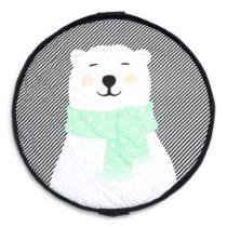 PLAY&GO. Στρώμα παιχνιδιού μαλακό - τσάντα 2 σε 1. Πολική Αρκούδα - Bebe Home Βρεφικά Είδη