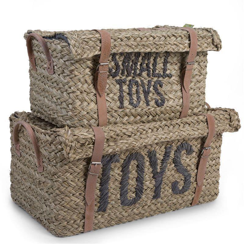 CHILDHOME Σετ 2 Καλάθια Toys & Toys Small