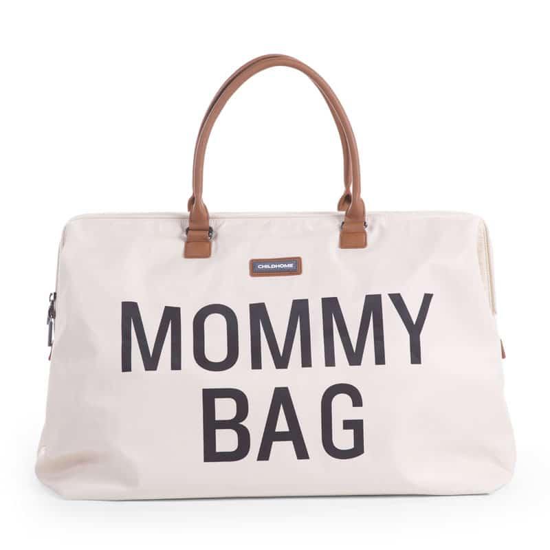 CHILDHOME Τσάντα αλλαγής Mommy Bag Big Off-White
