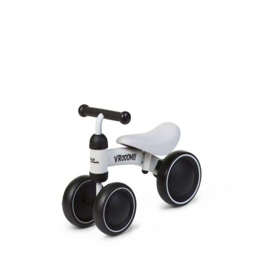 Childhome Ξύλινο Ride On Ποδήλατο Baby Bike Vroom White