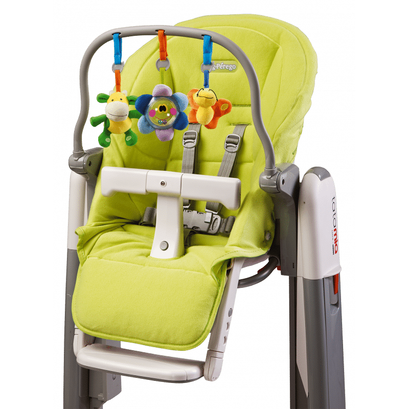 Peg Perego Tatamia Kit With Play Bar and New Born Verde