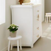 Pali Συρταριέρα Tulip Λευκό - Bebe Home Βρεφικά Είδη