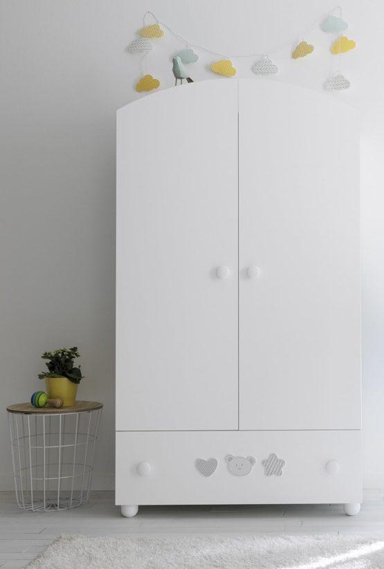 9725 Birillo Bianco Armadio 2