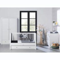 Kidsmill Βρεφικό δωμάτιο Diamond II White - Bebe Home Βρεφικά Είδη