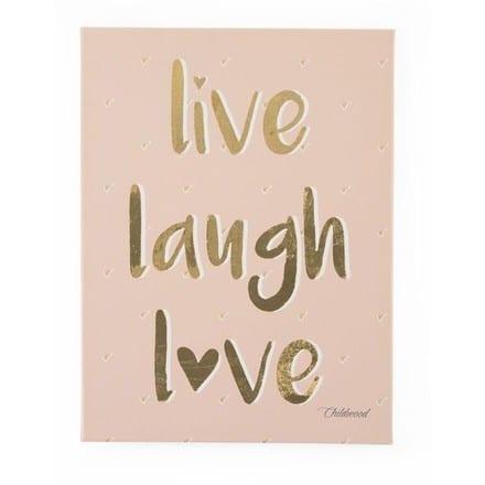 CHILDHOME Kανβάς Live Love Laugh
