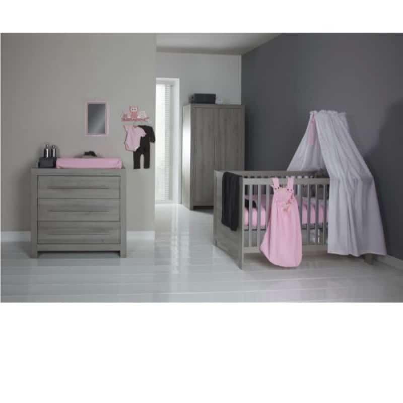Kidsmill Βρεφικό δωμάτιο Vicenza Grey