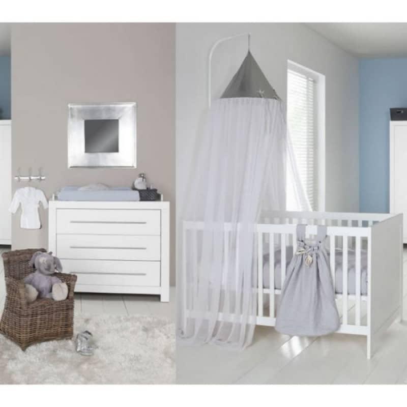 Kidsmill Βρεφικό δωμάτιο Vicenza White